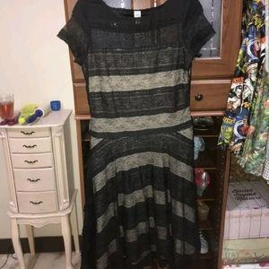 Sangria lace dress size 12.